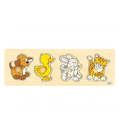 Puzzles de encaje animalitos