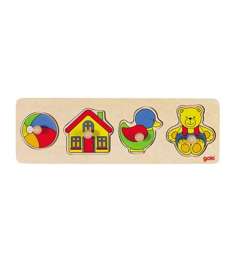 Puzzle de encaje juguetes