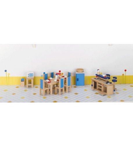 Muebles de cocina. Casa de muñecas