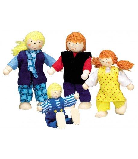 Familia joven. Casa de muñecas