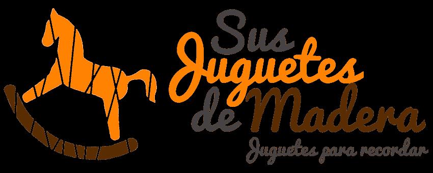 SUS JUGUETES DE MADERA LOGO